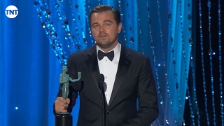 This Is The SAG Awards 2016 Acceptance Speech By Leonardo DiCaprio