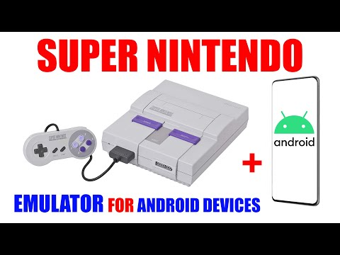 Super Nintendo On Android Devices [ SNES Game Console Emulator On Your Phone & Tablet Tutorial ]