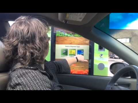 Testing Out Subway's Touch-screen Drive-through