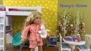 Tenny and Me Room Decorating Fun with American Girl Doll and My Life As Furniture and Accessories