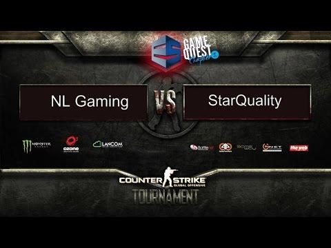 CS:GO GameQuest#1 I Big Final I NL Gaming vs StarQuality I Game 1