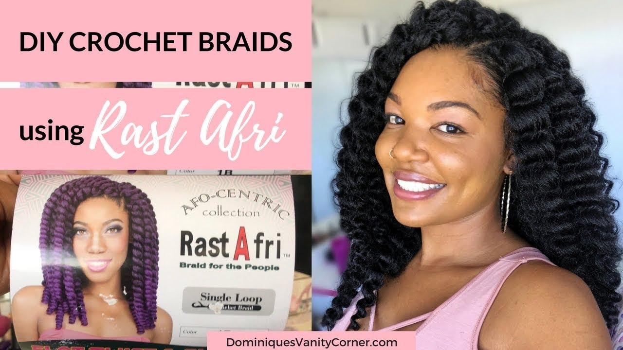 Easy Diy Crochet Braids Using Rastafri Flat Twist Curl