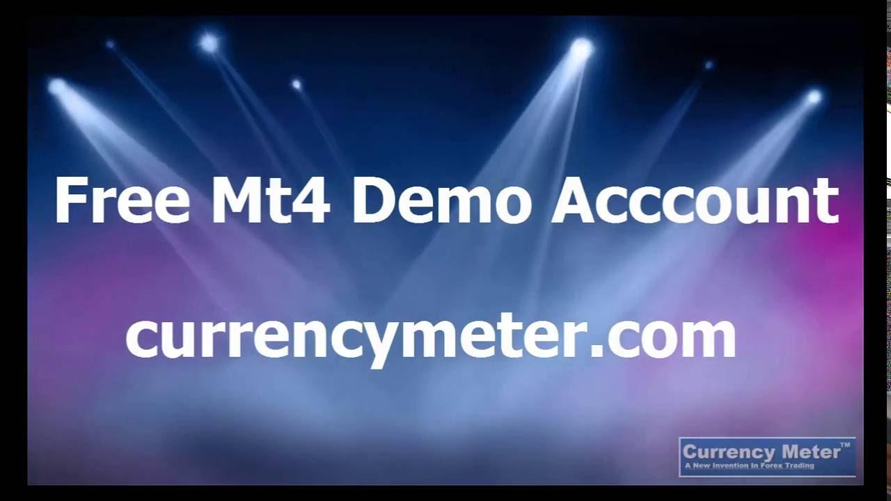 Free Non Expired Mt4 Demo Account Youtube