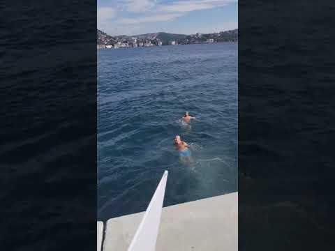 İstanbul boğazını yüzerek geçmek