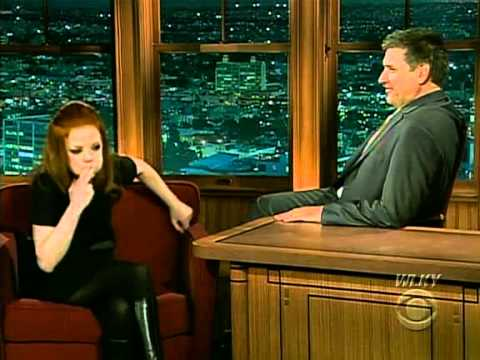 Shirley Manson - The Late Late Show with Craig Ferguson -2009/02/12
