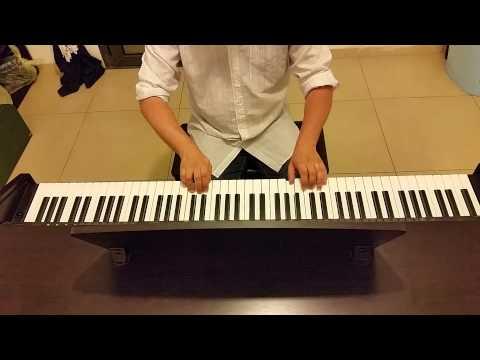 Верасы Малиновки заслыша голосок (Прошу тебя в час розовый напой тихонько мне)  пианино кавер