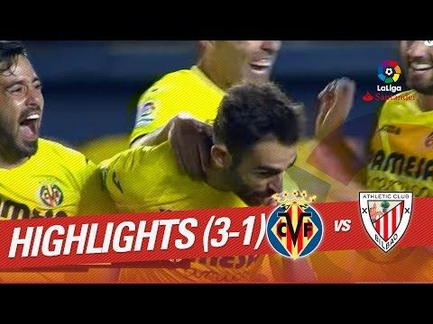 Resumen de Villarreal CF vs Athletic Club (3-1)