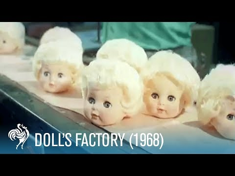 Doll's Factory: How Dolls Are Made (1968) | British Pathé
