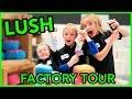 LUSH Factory Tour