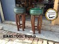 Woodworking : Bar Stool - Shop Stool