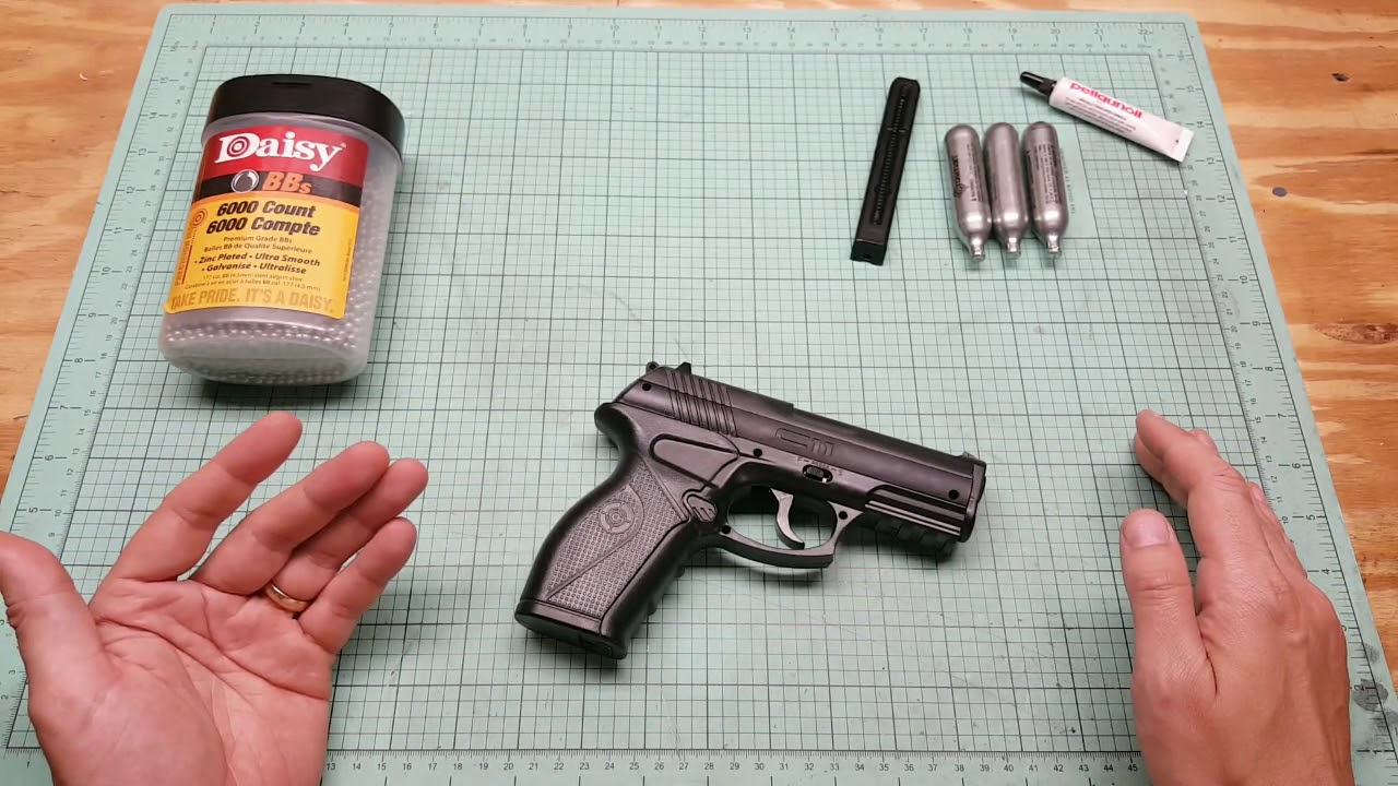 Download Crosman C11 BB Gun Review. cO2 powered bb pistol cheap budget pistol
