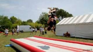 Promo Stage août 2010 XSwipe de Trickz acro cheerleading capoeira à la dune du pilat