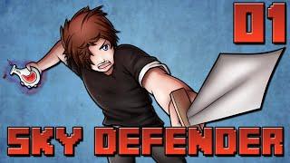 Sky Defender : Beaucoup de Changements ! | Jour 01 - Minecraft