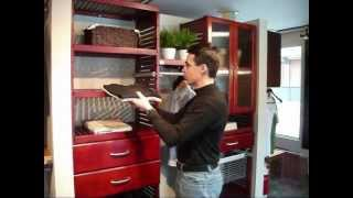 6. John Louis Home Adjustable Shelves