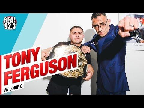 "Tony ""El Cucuy"" Ferguson talks Khabib and UFC 223"