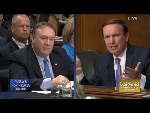 Murphy Questions Secretary Pompeo in Senate Foreign Relations Committee