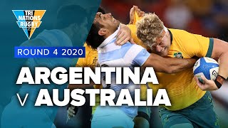 Tri Nations 2020 | Argentina v Australia - Rd 4 Highlights