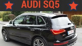 Audi SQ5 tdi 2014 - Acceleration - Competition - Test - Drive - Sound - Autobahn - Exhaust - Review