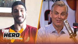 Enes Kanter on Damian Lillard's GW shot, playing with Westbrook and trash talking | NBA | THE HERD