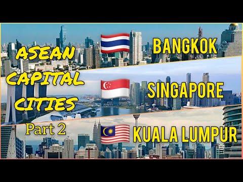 BANGKOK | SINGAPORE | KUALA LUMPUR - ASEAN Capital Cities 2020 Part 2