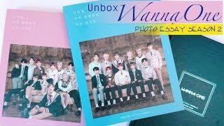 Unbox - Wanna One Photo Essay Season 2