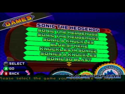 Sonic Mega Collection (GCN): How To Unlock All Games!