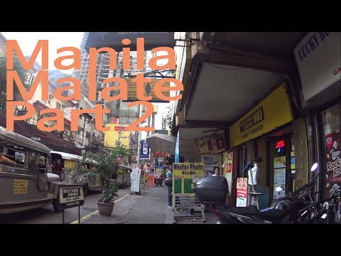 Manila Malate Just Walking at Morning Part2 (Lotto, 1335MABINI gallery)(필리핀 마닐라 말라테)