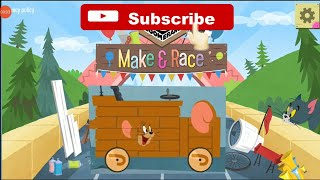 Tom And Jerry Car Race Game I Toddler Game I Boomerang