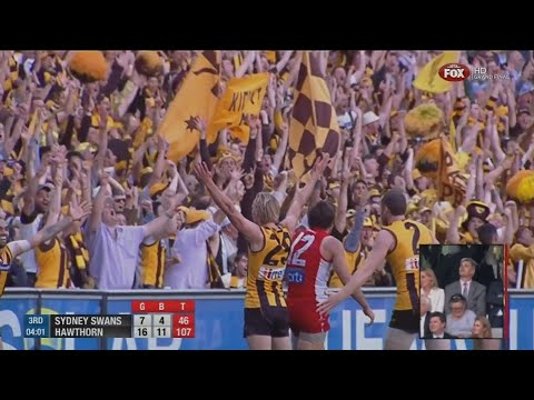 AFL 2014 Grand Final Hawthorn Vs Sydney