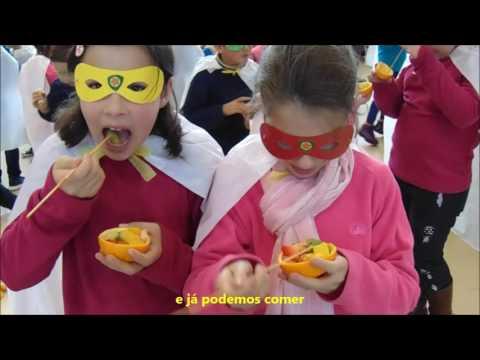 Hino da Fruta 2016/2017 Centro Escolar São Pedro de Tomar - Santarém