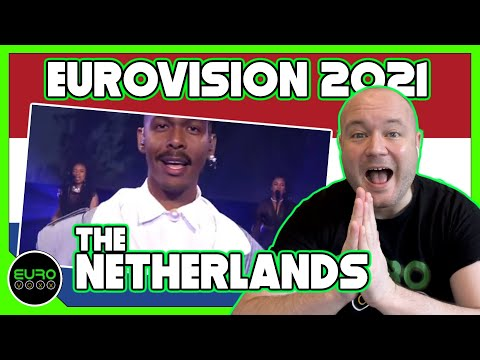 The NETHERLANDS EUROVISION 2021 REACTION: Jeangu Macrooy - Birth Of A New Age // ANDY REACTS!