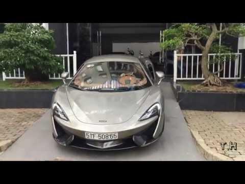 """[ TH ] Cường """"Đô-la"""" tậu siêu xe McLaren 570S độc nhất Việt Nam"""
