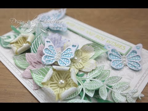 Pastel Flowers Complete Card & Box Die Set