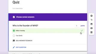 You Can Grade Short Answer Questions in Google Forms!
