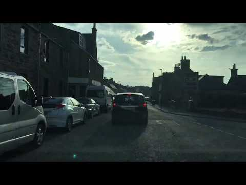 A98 Fraserburgh to Fochabers via Macduff and Banff entire length time lapse