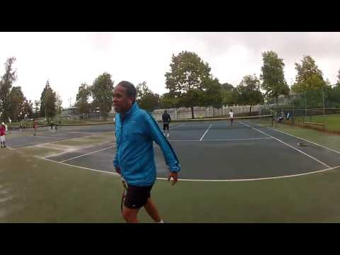 Joyce VS Nikkei- Tennis Dual Meet 2016- Warmup