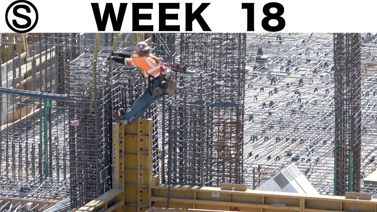 One-week construction time-lapse with closeups: Week 18 of the Ⓢ-series