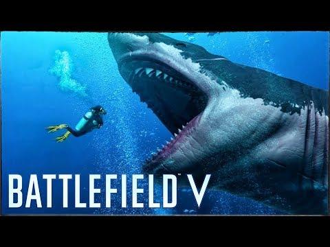 Battlefield V - МЕГАЛОДОН ВЕРНУЛСЯ? БОЛЬШАЯ ПАСХАЛКА! (Что игроки нашли в болоте?)