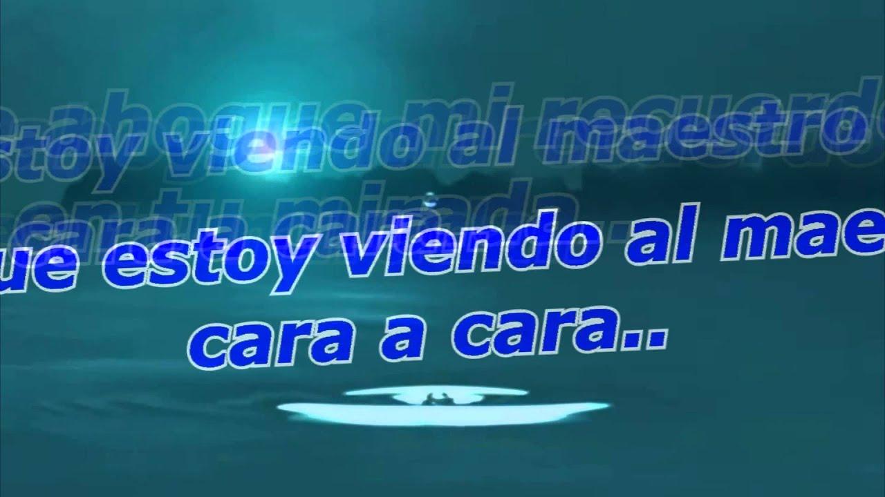 Cara A Cara - Marcos Vidal Letra HD - YouTube