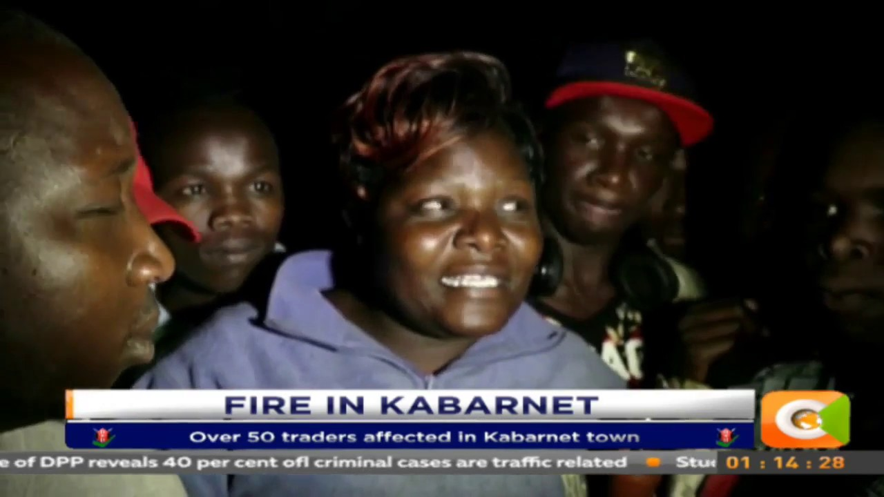 Over 50 traders affected in Kabarnet Town Fire