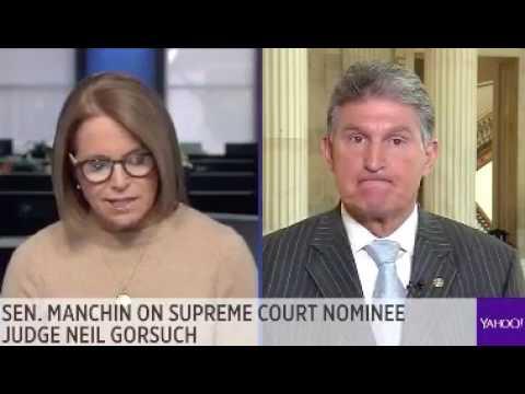 Dem Sen. Joe Manchin Bucks Senate Minority Leader Schumer, Says Gorsuch Deserves An Up Or Down Vote