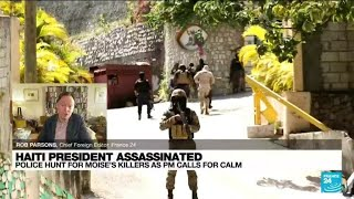 Haiti police hunt down president's assassins as uncertainty grows • FRANCE 24 English