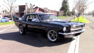 1966 Mustang Revs, Acceleration and Slide