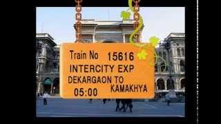 Train No 15616 Train Name INTERCITY EXP DEKARGAON RANGAPARA NORTH NEW MISAMARI MAJBAT UDALGURI thumbnail