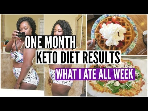 One Month Keto Diet Results What I Ate To Lose Weight Keto Tips