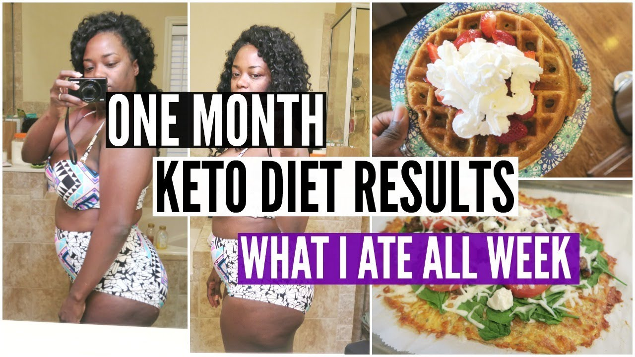 How much weight can i lose on the keto diet in a month