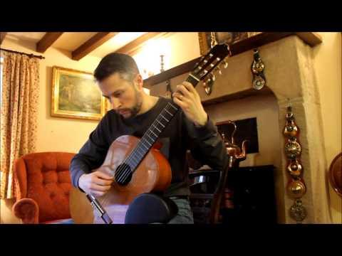 Kapsberger's Canario on Classical Guitar