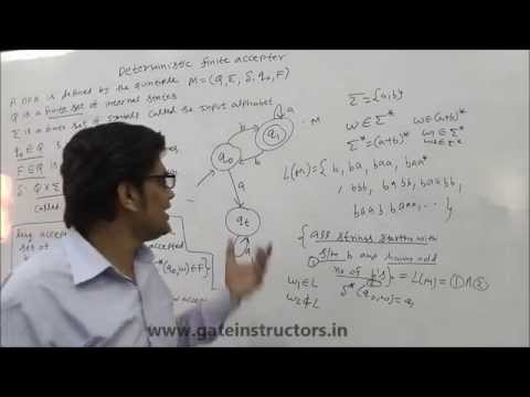 013 | Deterministic Finite Automata DFA Construction with Examples and Solution | Automata Theory