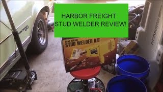Harbor Freight Stud Welder Unboxing and Review - Copart Ford Focus