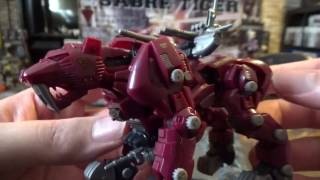 a review of the Modeler's Spirit Series Zoids Saber Tiger model kit...